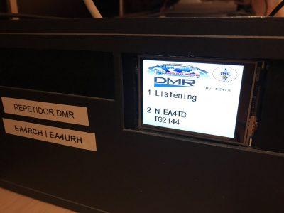 Nuevo repetidor DMR en Madrid